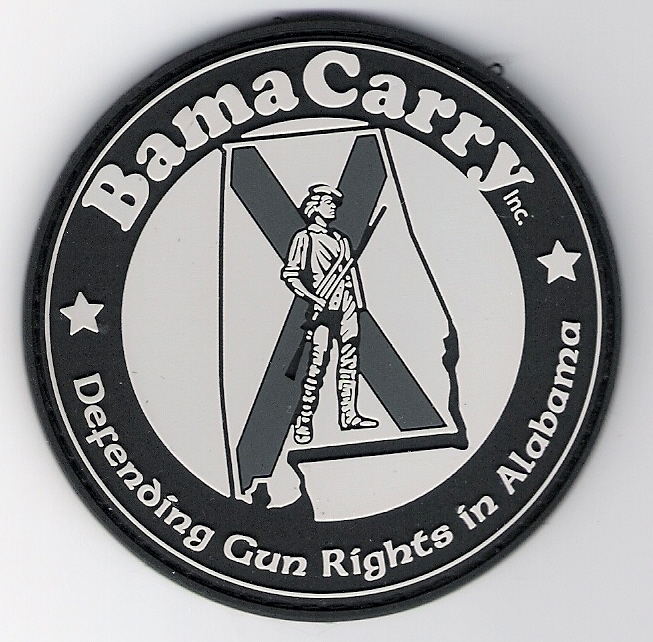 BamaCarry PVC patch