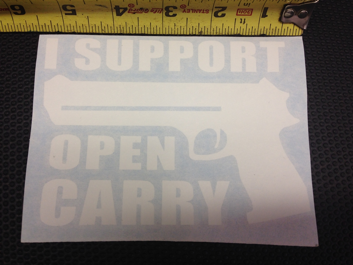 I Support Open Carry